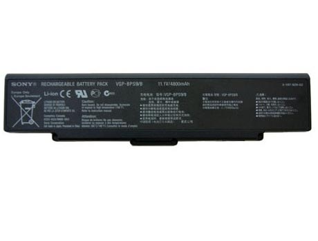 SONY VGN-CR590EBR battery